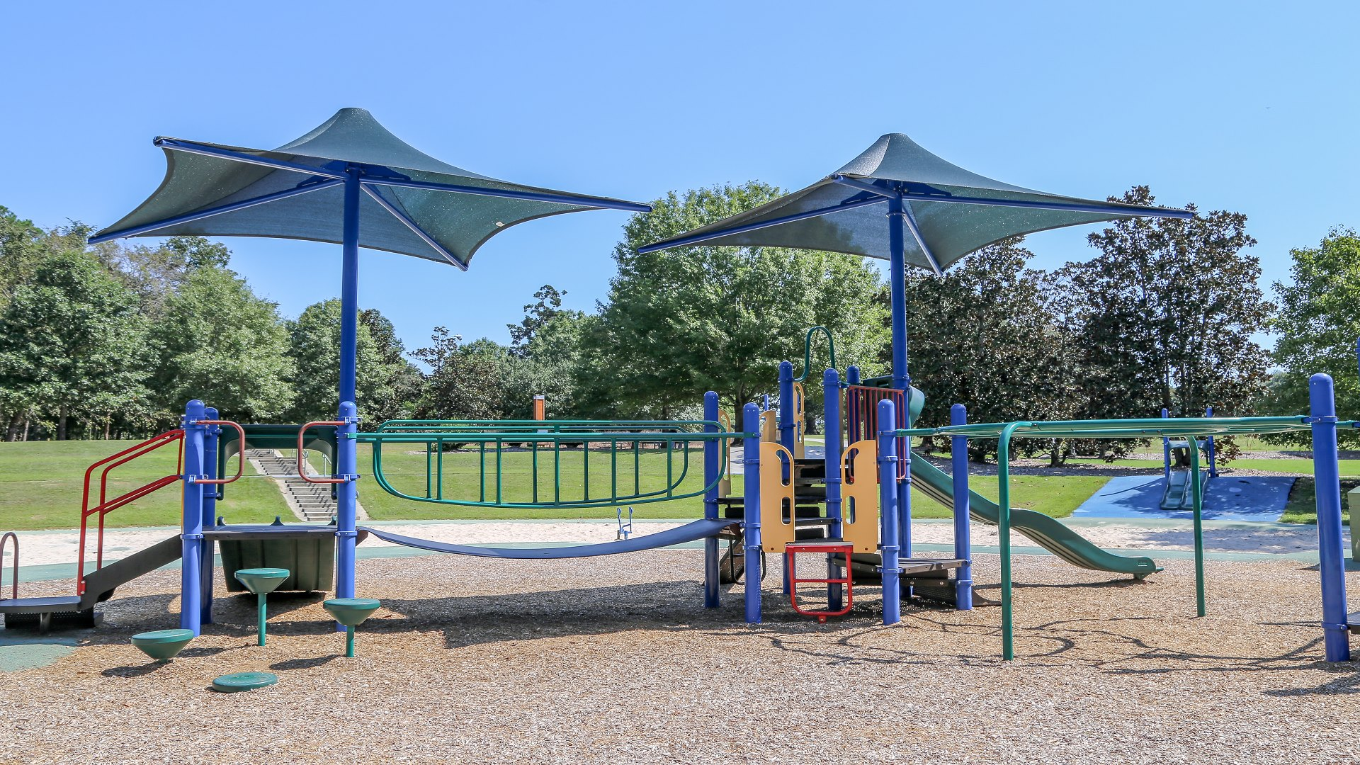 A large playground for children up to 12 years old at Anderson Point