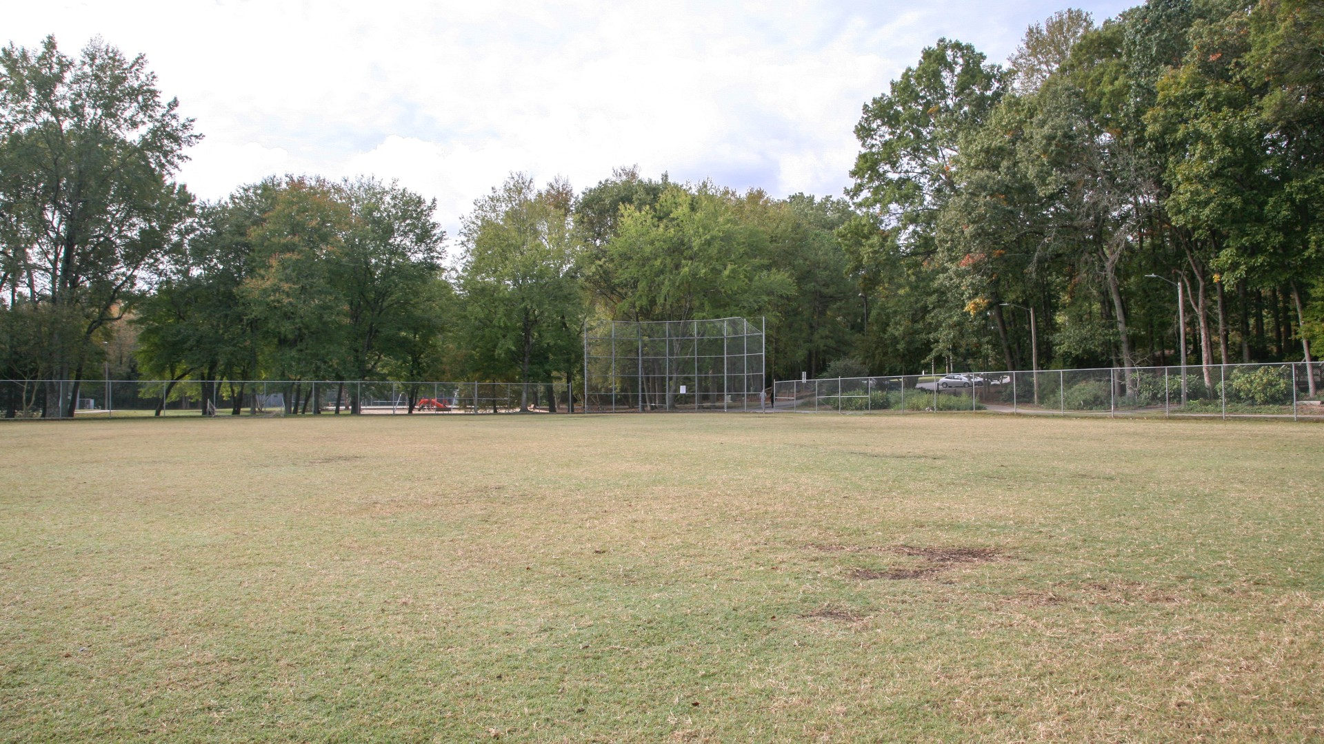 A second multi-use open field at Brentwood Park