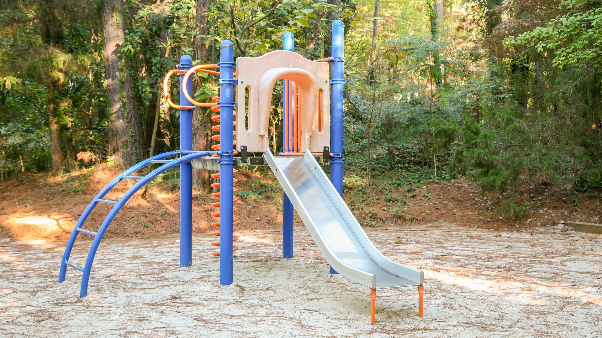Playground for ages 2 to 5 at Glen Eden Pilot Park