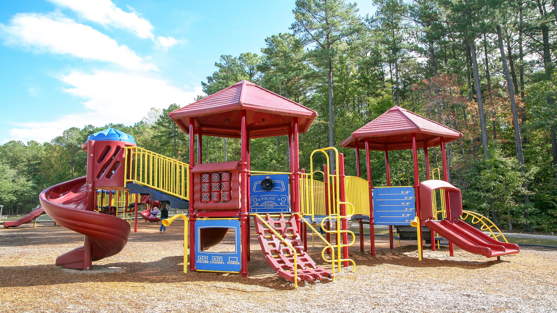 Playground for ages 2 to 5 at Honeycutt Park