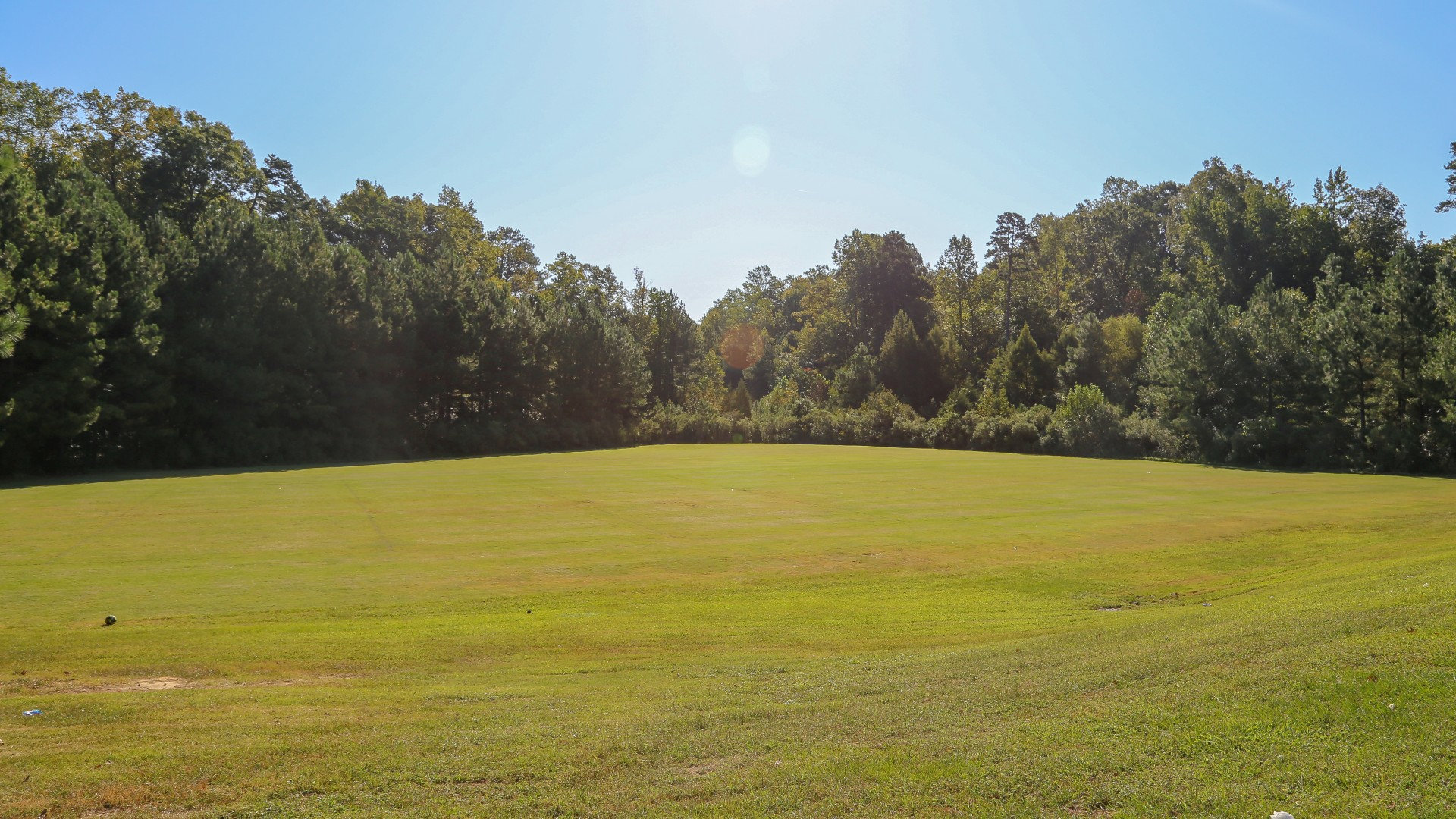 A large, open multi-purpose field at Marsh Creek