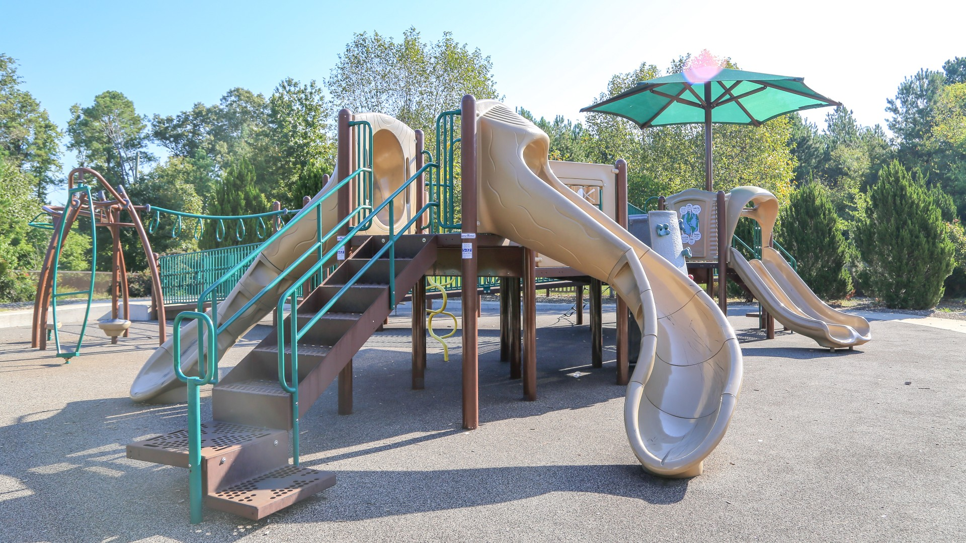 A second large playground for older children at marsh creek park