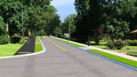 Carolina Pines Avenue rendering