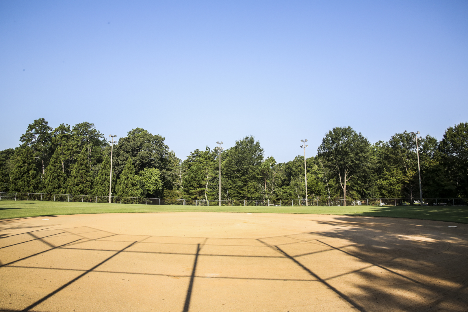 A second open field used for softball