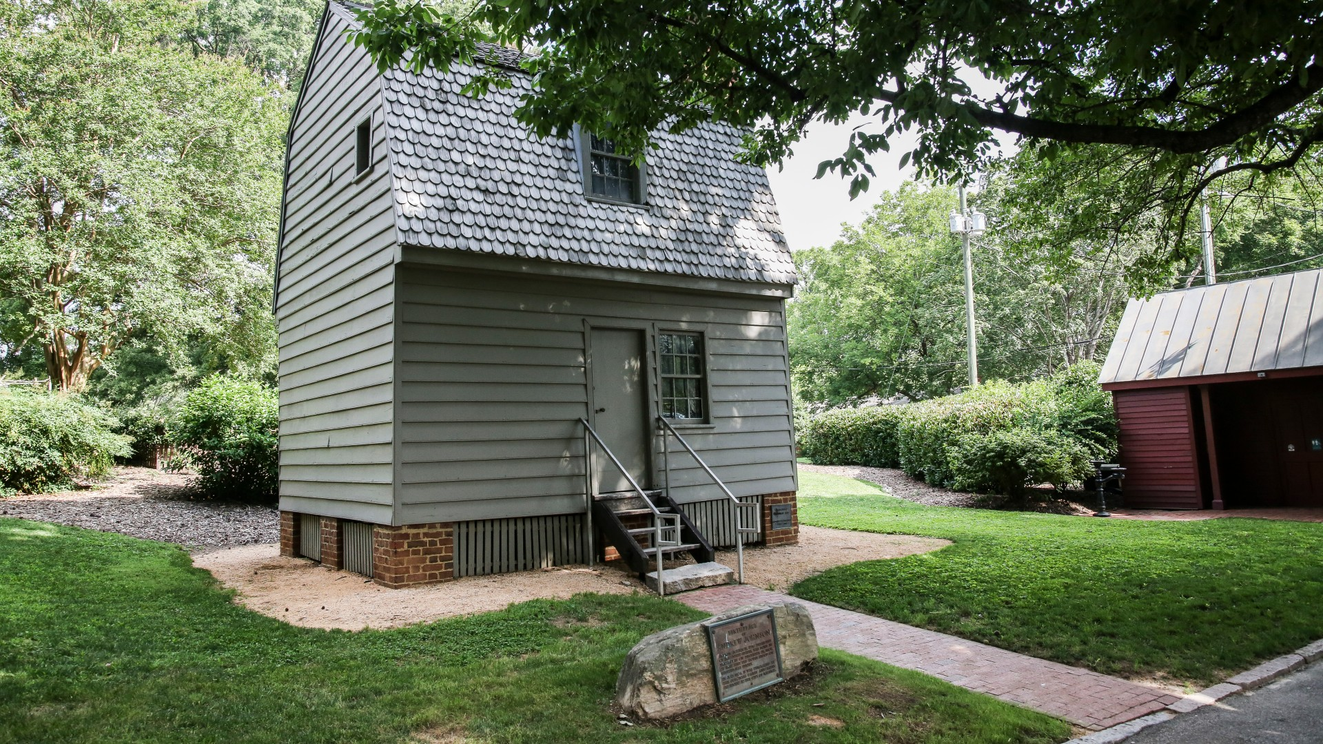 The birthplace of Andrew Johnson