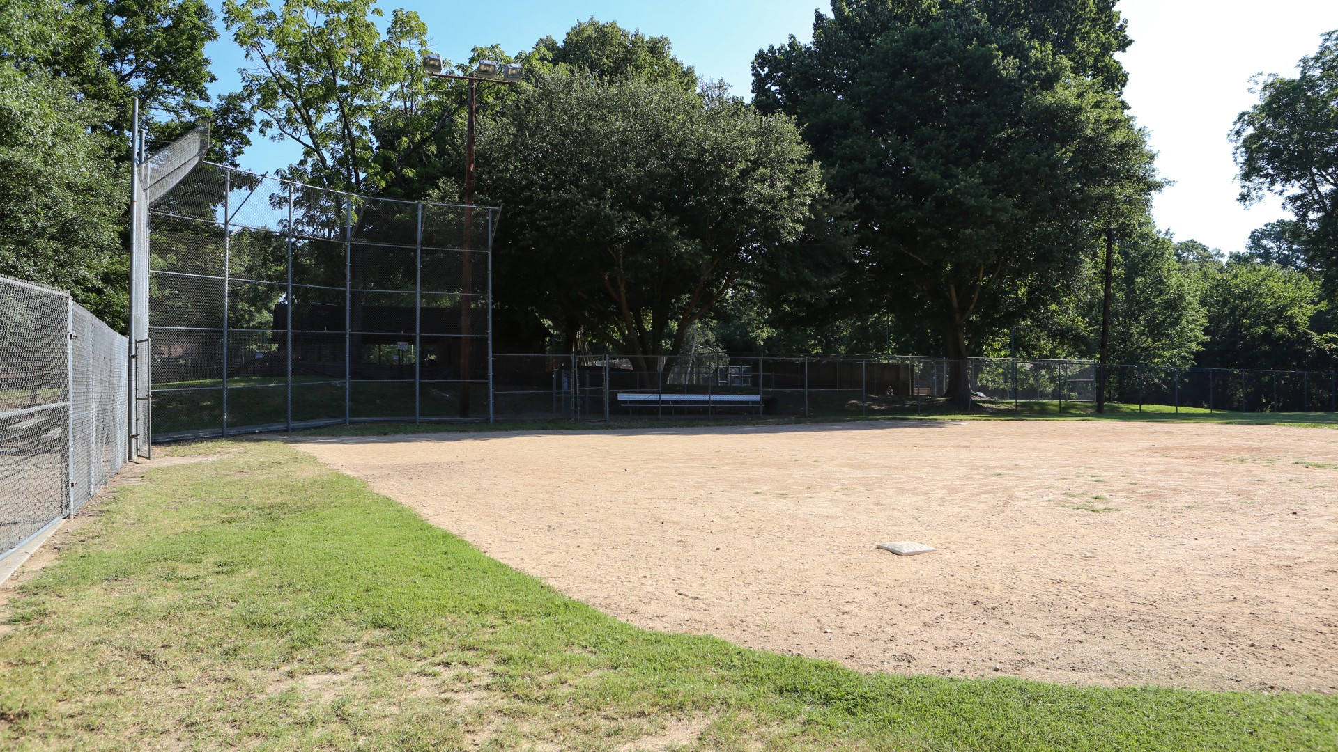 Youth baseball field