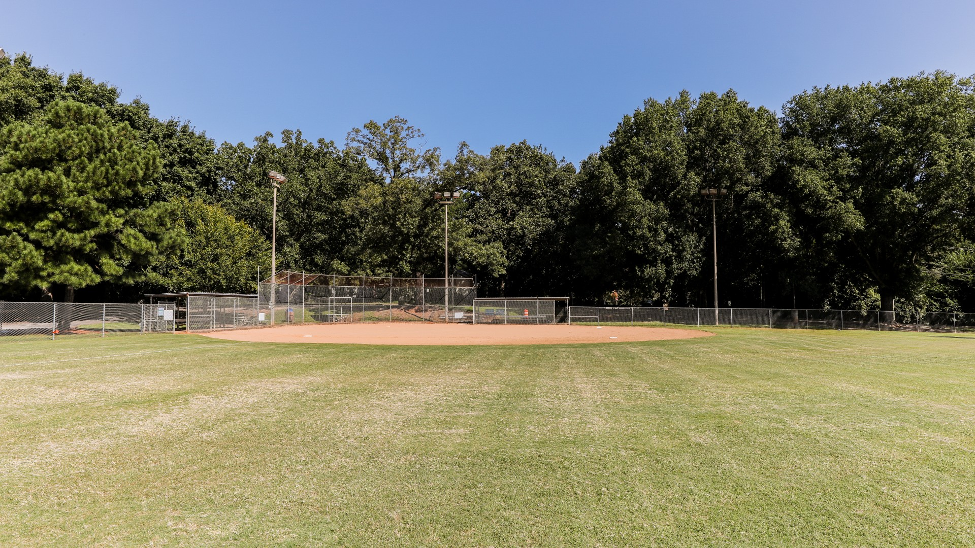 A third field used for youth baseball
