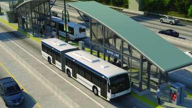 Raleigh BRT Rendering