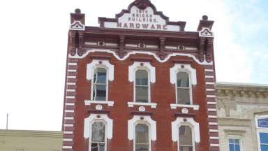 This is the Briggs Hardware building which is home to the City of Raleigh Museum.