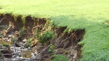 Erosion on Jupiter Hills Court