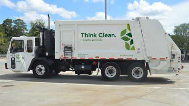 Solid Waste Services truck