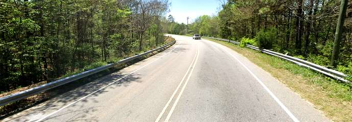 Old Wake Forest Road, before construction