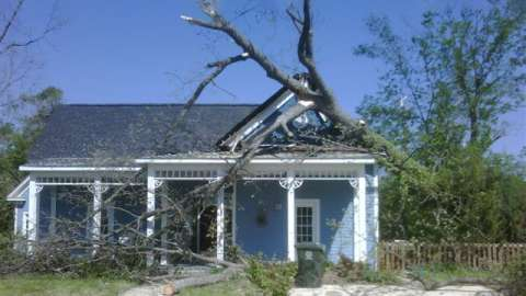 Historic Property Storm Damage