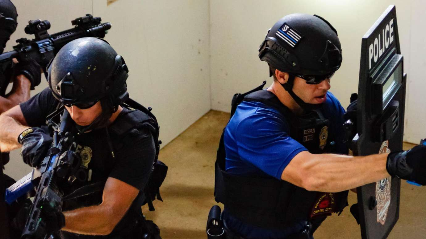 Raleigh Police Department selective enforcement unit training