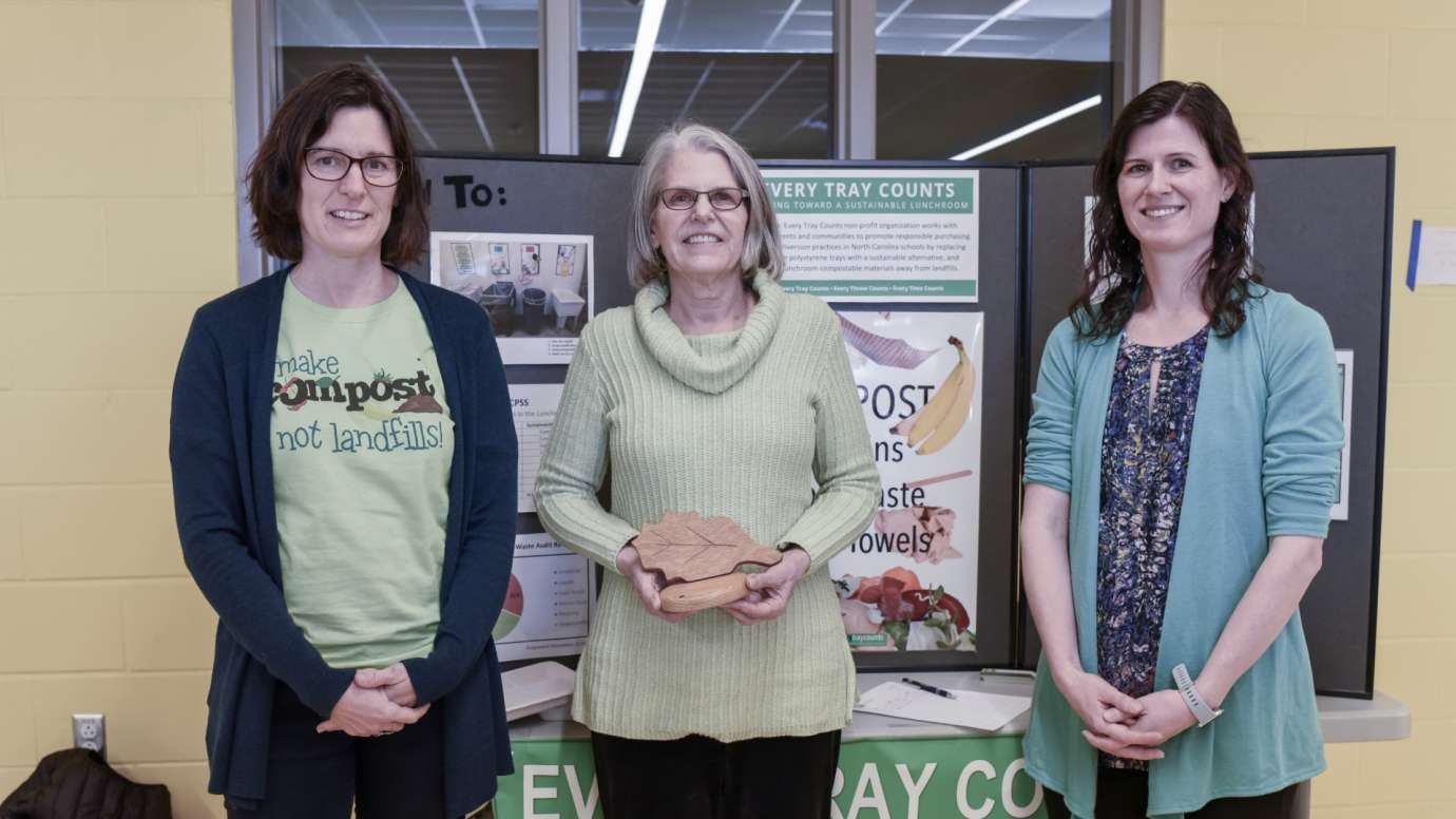 2020 Climate Action Award for Waste winners Every Tray Counts